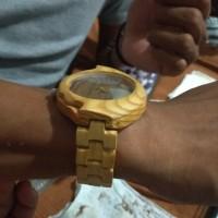 jam tangan kayu mindi