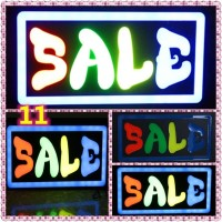 Papan Tulisan Lampu Led / LED Light Neon / Open Sale Toko Iklan o11