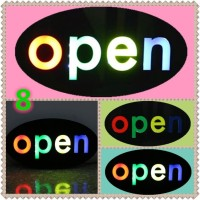 Papan Tulisan Lampu Led / LED Light Neon / Open Toko Iklan o8