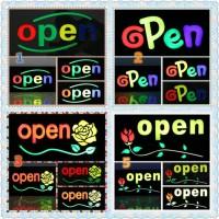 Papan Tulisan Lampu Led / LED Light Neon / Open Toko Iklan o15