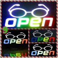 Papan Tulisan Lampu Led / LED Light Neon / Open Toko Iklan o9