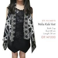 Baju Luaran Anak - Melia Batik Kid Vest ( Rompi Anak )
