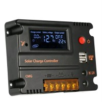 Ada Solar Charge Controller 20A Solar Panel Regulator Auto