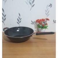 Loyang Wok Pan Enamel 32 Cm