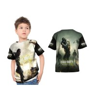Kaos Baju Tshirt Anak Call Of Duty 01 Custom Fullprint