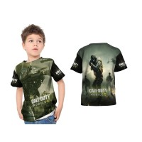 Kaos Baju Tshirt Anak Call Of Duty 02 Custom Fullprint