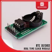 DS1302 RTC DS13202 REAL TIME CLOCK DS1302 MODULE DS1302 TANPA BATERAI