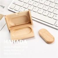 Flashdisk Kayu Custom & Box - Bu Eli