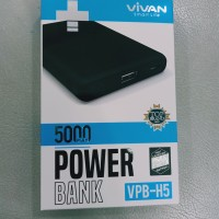 Powerbank Vivan VPB-H5 5000mAh