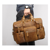 Tas Selempang Kulit Asli Crazy Horse Leather - Alpen by Napoleon