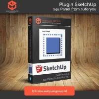 s4u Panel Plugin SketchUp Original License dan Support