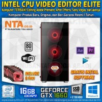 INTEL CPU VIDEO EDITOR ELITE