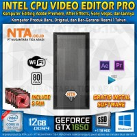 INTEL CPU VIDEO EDITOR PRO