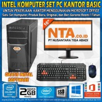 INTEL KOMPUTER SET PC KANTOR BASIC