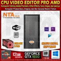 CPU VIDEO EDITOR PRO AMD