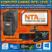 KOMPUTER GAMING INTEL LEVEL 2