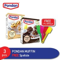 Pondan Muffin GRATIS Spatula
