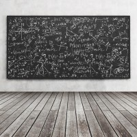 Laeacco Blackboard Chalk School Classroom Wooden Board Child Baby