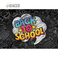 Laeacco Blackboard Back To School Baby Learning Classroom Study