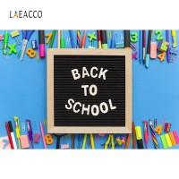 Laeacco Blackboard Chalk Pencil Classroom Screen Back To School