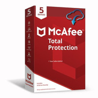 McAfee® Total Protection™ Software ORIGINAL CODE [5 Device/ 1 Year]
