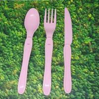 Alat makan anak dan dewasa pink