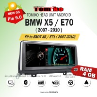 Head unit Android Tomiko OEM for BMW X5/E70 Ram 4