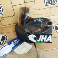 Visor Arai Clear SAL + Smoke Pinlock - Like New - Arai RR5/Corsair V