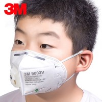 Masker 3M Mask 9003V Anti Fog Haze Dust Mask Untuk Anak-Anak