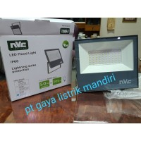 NVC Sorot LED 50w Putih / floodlight ekonomis