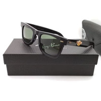 Kacamata Rb Wayfarer Hard Rock New York lensa hitam LIMITED
