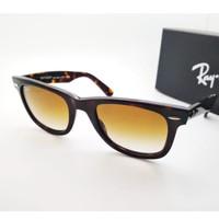 Kacamata Rb Wayfarer 2140 PREMIUM tortoise glossy lensa kaca