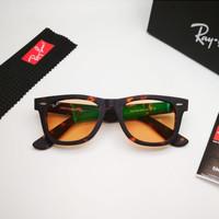 Kacamata Rb Wayfarer Tortoise doff photocromic coklat LIMITED