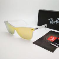 Kacamata Rb Wayfarer Blaze RB44440N kuning - sunglasses Kacamata