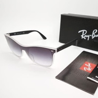 Kacamata Rb Wayfarer Blaze RB44440N hitam gradasi - sunglasses