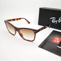 Kacamata Rb Wayfarer Blaze RB44440N tortoise lensa coklat Kacamata