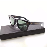 Kacamata Rb Wayfarer Atlanta W2244 XSAR hitam glossy LIMITED