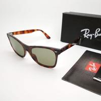 Kacamata Rb Wayfarer Blaze RB44440N tortoise lensa hijau botol