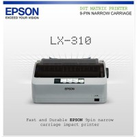 Printer Dot Matrik Epson Lx310 New