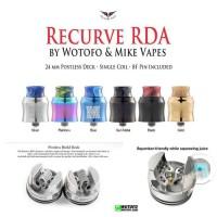 Atomizer Recurve RDA 24MM By Wotofo - RDA 24mm Recurve