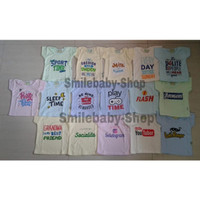 Kaos Oblong / Atasan Anak Print Words Hello Baby All Size (Random)