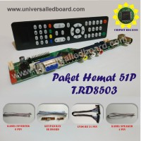 Universal led board Paket Hemat 51Pin