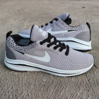 premium ! sepatu sport nike flyknite zoom men casual running import