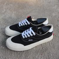 TERLARIS ! Sepatu vans era halfmoon black white sneakers premium impor
