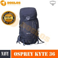 New Osprey Kyte 36 backpack Outdoor Day Hiking Tas gunung Navy