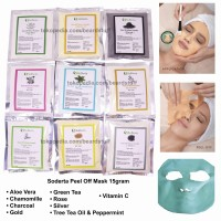 Soderta Peel Off Mask repack 15 GRAM Masker klinik bubuk rubber jelly