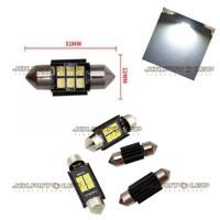 Lampu LED Kabin Plafon Mobil Feston LED Premium 3030 6 Titik SMD DC
