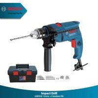 Bor Bosch Impact Drill 13mm Kit Set Mata Bor 06011A15K1 GSB550