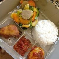 Nasi Kotak Paket Mantap halal, higienis, enak dan murah
