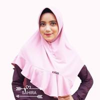 jilbab instan nafisa sahira/jilbab pendek polos murah/jilbab rempel